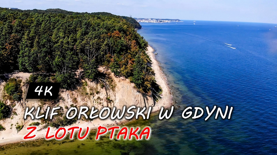 17.09.2019 00:00 Klif Orłowski z lotu ptaka