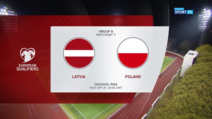 Łotwa - Polska 0:3. Skrót meczu