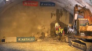 Zakopianka: przebito pierwszą nitkę najdłuższego tunelu w Polsce