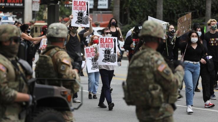 Funkcjonariusze Gwardii Narodowej zakażeni koronawirusem po protestach w USA