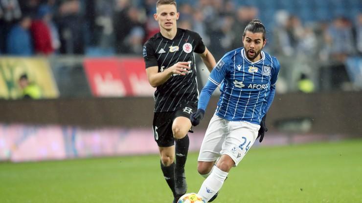 Lech pokonał ŁKS. Piękny gol Portugalczyka