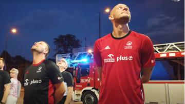 Reprezentacja Polski siatkarzy ewakuowana z hotelu (WIDEO)