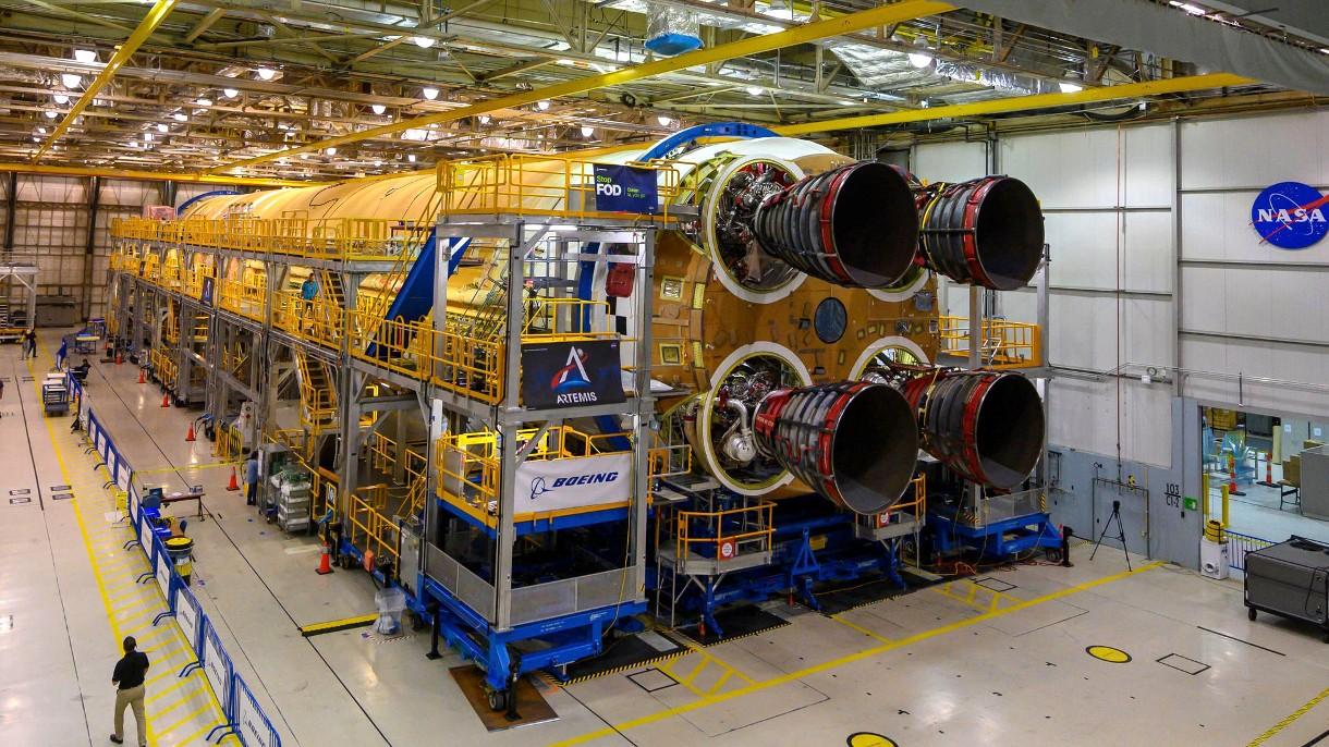 NASA ukończyła budowę głównej części rakiety SLS, która zabierze ludzi na Księżyc