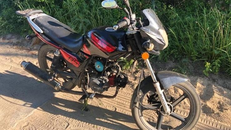 O tym, że ukradli mu motorower, dowiedział się od policji