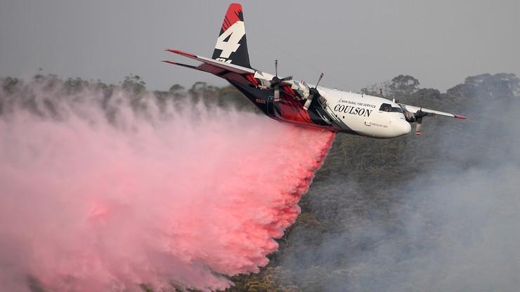 Katastrofa samolotu gaśniczego w Australii. Są ofiary