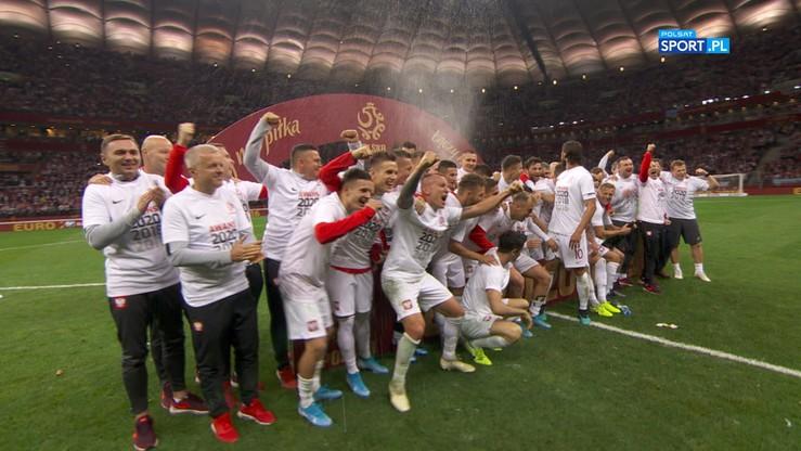 Polska awansowała na Euro 2020! Feta po zwycięstwie z Macedonią Północną