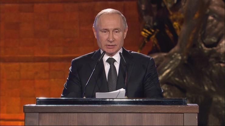 Putin w Jerozolimie o Polakach