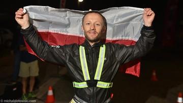 Przebiegł 490 km w niecałe 70 godzin. Polak jako jedyny dotarł do mety