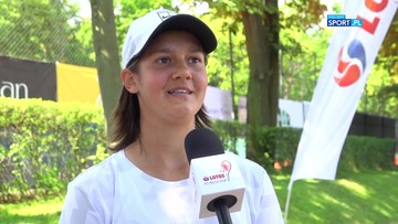 Olivia Bergler: Na początku meczu bardzo się trzęsłam