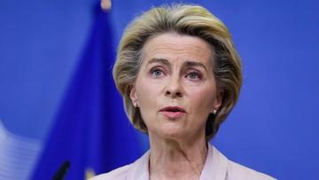 """""""Złamanie prawa międzynarodowego"""". Von der Leyen o zamiarach brytyjskiego premiera"""