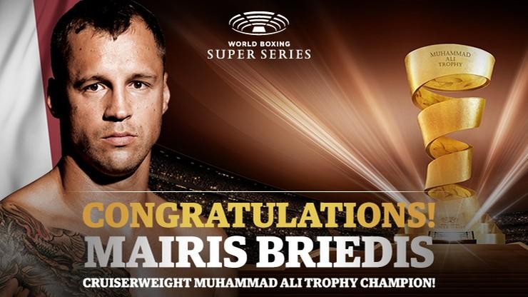 Turniej WBSS: Mairis Briedis pokonał Yuniela Dorticosa w finale