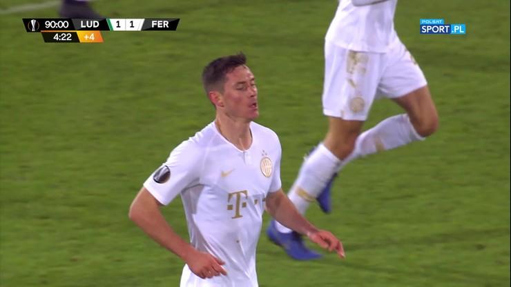 Liga Europy: Polacy spadli w rankingu UEFA po golu Ferencvarosu w ostatnich sekundach