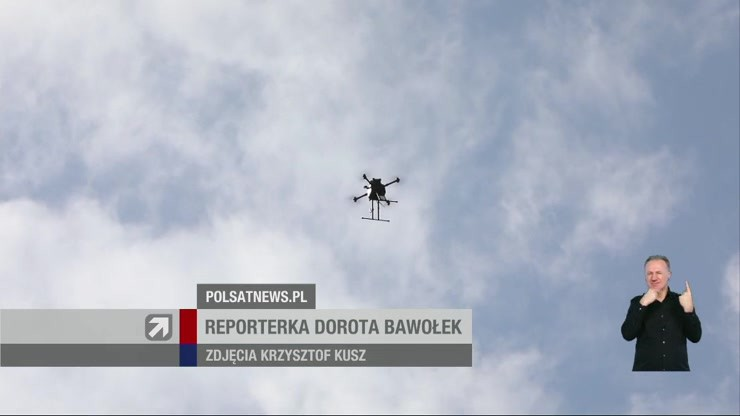 Rewolucja w transporcie medycznym. W Belgii krew dostarczą drony