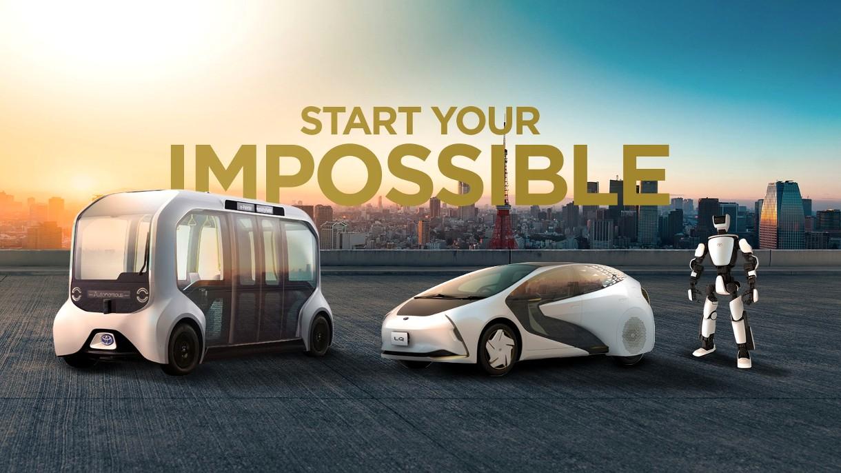 Takie technologie przyszłości od Toyoty pojawią się na Letniej Olimpiadzie (film)