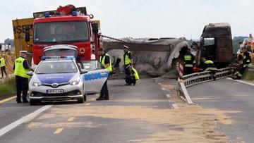 Wypadek w Bogusławicach. Podano prawdopodobną przyczynę