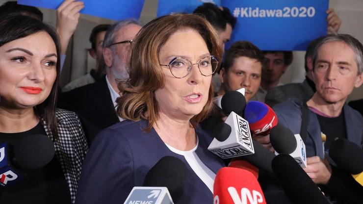 Kidawa-Błońska: Polska potrzebuje prezydenta, który będzie mówił my, a nie ja