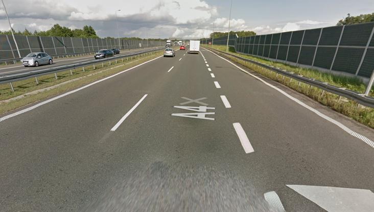 Ustawka na autostradzie A4. Pseudokibice bili się na środku drogi
