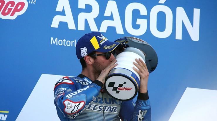 MotoGP: Alex Rins wygrał w Aragonii, Joan Mir na czele cyklu