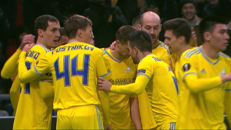 Liga Europy: Manchester United przegrał w Kazachstanie
