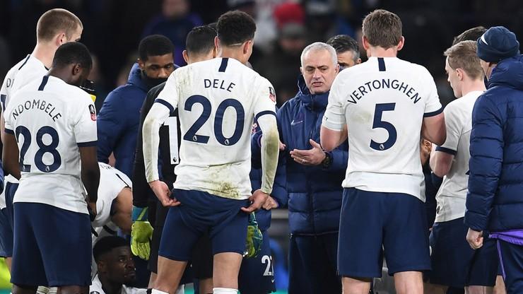 Puchar Anglii: Piłkarz Tottenhamu chciał... bić się z kibicem (WIDEO)