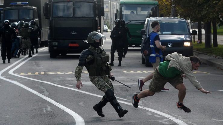 Protesty na Białorusi. Zatrzymano prawie 800 osób