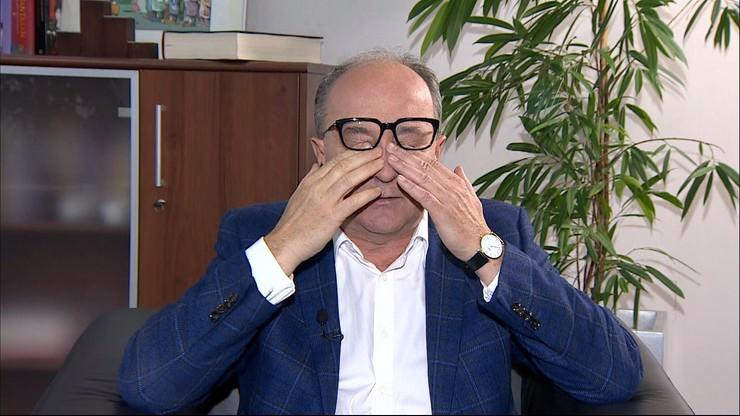 Czarzasty sparodiował jednego z kandydatów na prezydenta