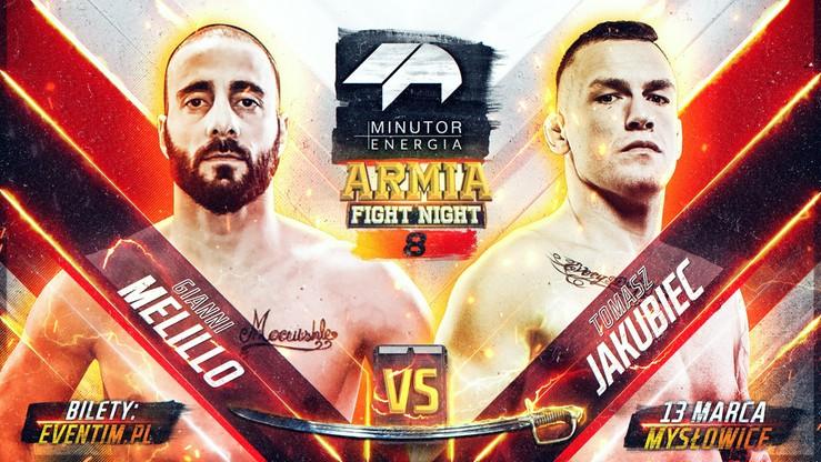 MINUTOR Energia Armia Fight Night 8: Jakubiec - Melillo w walce wieczoru o Mistrzowską Szablę