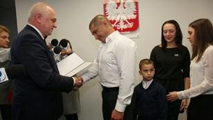 Ukraiński kierowca, który pomagał ofiarom wypadku na A6 z polskim obywatelstwem