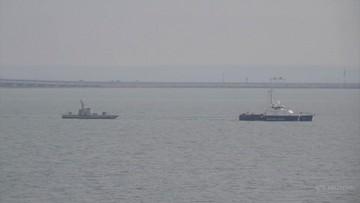 Rosja zwróciła Ukrainie okręty zajęte w Cieśninie Kerczeńskiej
