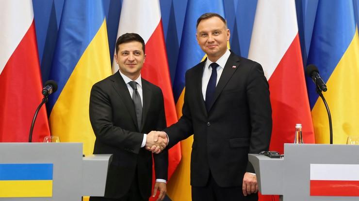Duda: żądamy powrotu do pełnej integralności terytorialnej Ukrainy