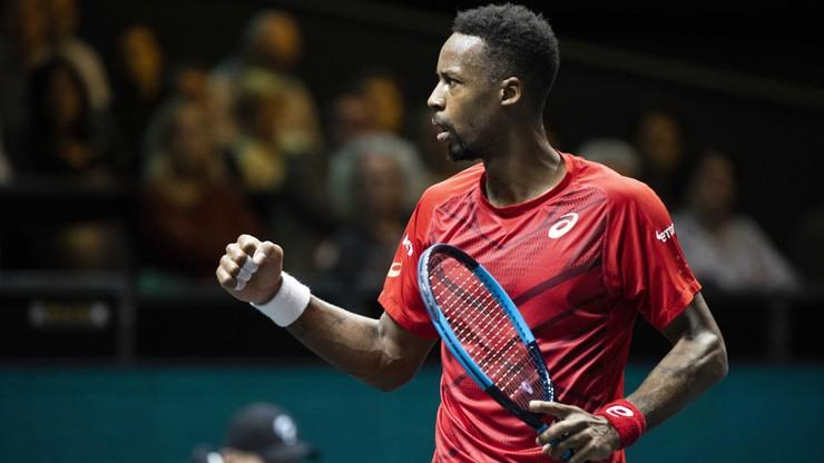 ATP w Rotterdamie: Monfils w półfinale