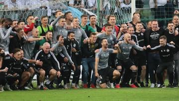 Legia Warszawa mistrzem Polski!
