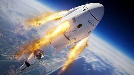 Zobacz, jak SpaceX zniszczyło swoją rakietę i uratowało załogową kapsułę Dragon
