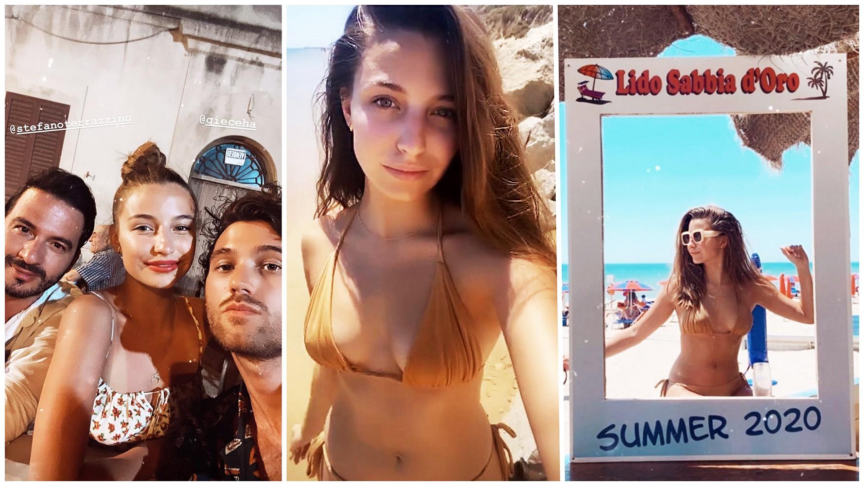 Julia Wieniawa relaksuje się na słonecznej włoskiej wyspie - Polsat.pl