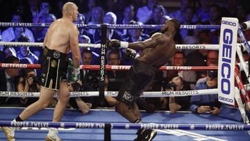 """Tyson Fury mistrzem świata! """"Król Cyganów"""" pokonał przed czasem Deontaya Wildera"""