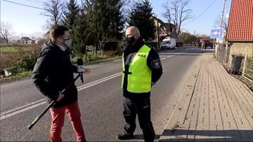 Piława Dolna: ciężarówka wjechała w budynek. Na miejscu policja i strażacy
