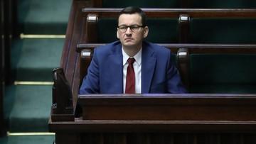 """Apel premiera do marszałka Senatu. Chodzi o """"tarczę"""""""