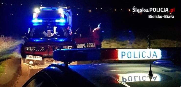 Policja i GOPR ratowały drwala ze złamaną nogą