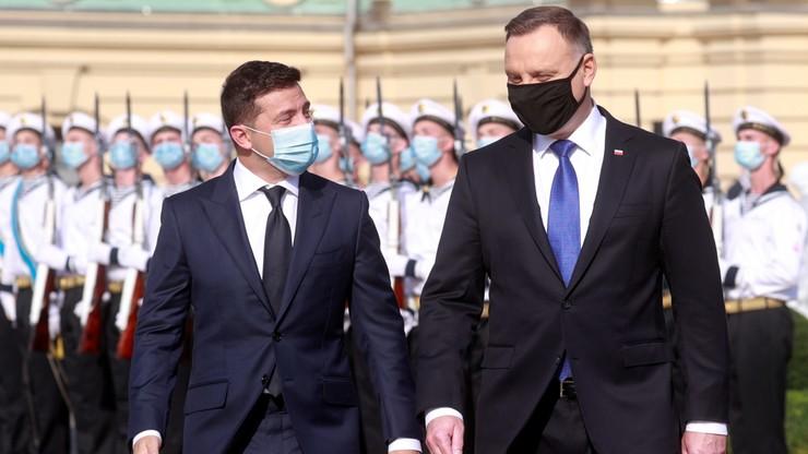 """""""Wzywamy do zakończenia okupacji Krymu"""". Wspólna deklaracja Dudy i Zełenskiego"""