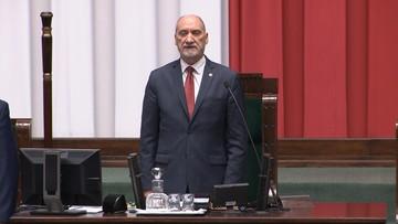 Start nowej kadencji Sejmu. Relacja minuta po minucie
