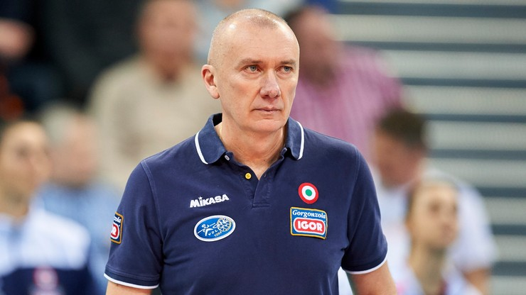 Trener wicemistrzyń Włoch przeszedł operację serca