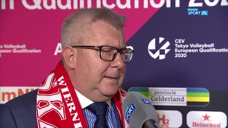 Czarnecki: Polska jest wzorem, jeśli chodzi o organizację meczów siatkarskich