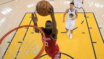 NBA: Hardena błyszczał w zwycięskim meczu Rockets