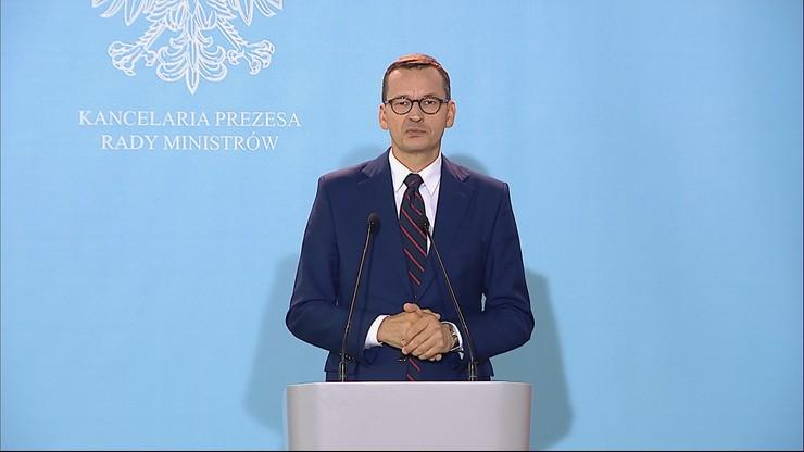 """Spotkanie premiera i opozycji ws. Białorusi. """"Konsensus ponad podziałami"""""""