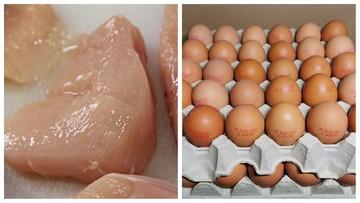 Salmonella w mięsie kurczaka i jajkach. Produkty wycofane ze sprzedaży