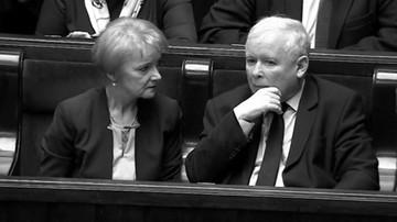 """""""Jej śmierć była dla mnie wielkim ciosem"""". Kaczyński wspomina odejście Szczypińskiej"""
