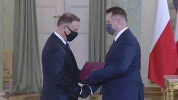 Prezydent powołał Przemysława Czarnka na ministra edukacji i nauki