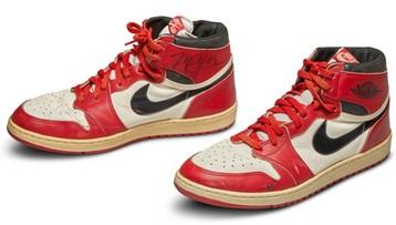 Rekordowa cena za buty Michaela Jordana. Są w różnych rozmiarach
