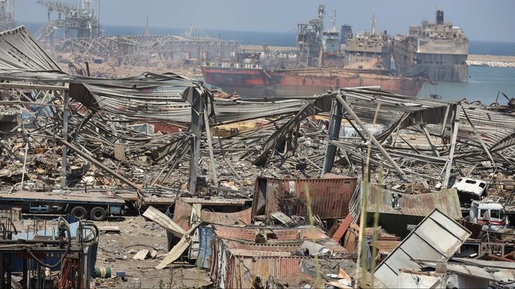 Polska pomoc dla Bejrutu. Ratownicy dotarli do zniszczonego miasta