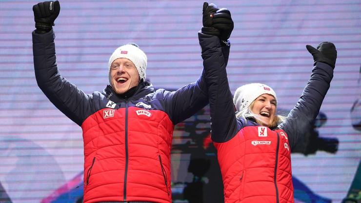 MŚ w biathlonie: Stracona szansa Polek, Norweżki najlepsze w sztafecie